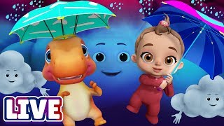 Humpty Dumpty Sat On A Wall plus More Nursery Rhymes & Songs For Babies - Live Stream