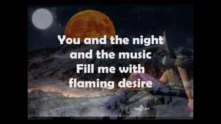 Vic Damone - You And The Night And The Music(Lyrics)