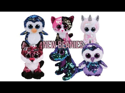 8a33fc17834 NEW SEQUIN BEANIE BOOS! (Ty Flippables) - YouTube