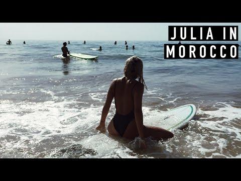 Julia in Morocco