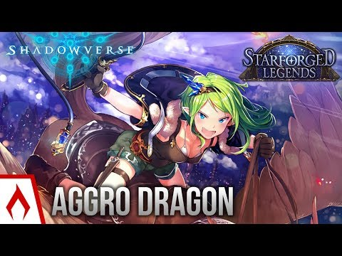 [Shadowverse] This Deck is Absolutely Disgusting - Aggro Dragoncraft Deck Gameplay