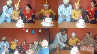 ||🎊🎉Udham Singh da Birthday Celebration🎂 || punjabi cooking and punjabi cultures