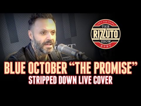 Blue October - The Promise [cover] | stripped down, LIVE performance [Rizzuto Show]