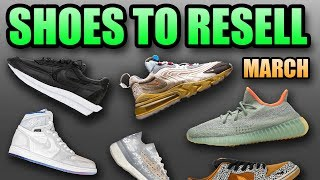 Most Hyped Sneaker Releases March 2020