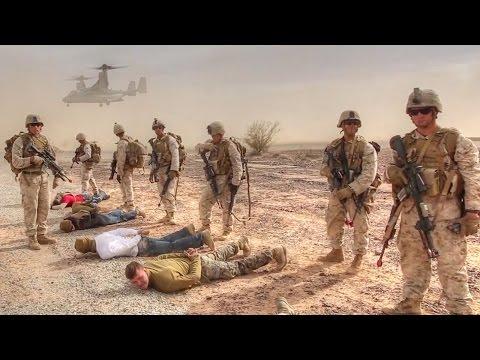 Marines Aerial Insertion and Raid
