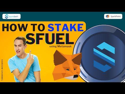 How to Stake SFUEL using Metamask Wallet | Web Version