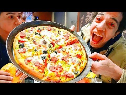 كلنا بيتزا ببلاش من غير مندفع ولا جنيه مش هتصدقو ازاى !