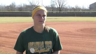 Samantha Herweck - ATU Student Athlete Of The Week 2/4/16
