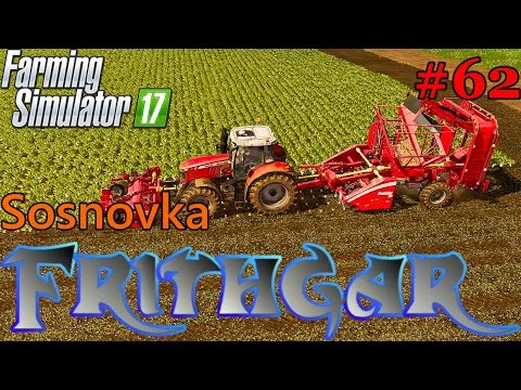 Let's Play Farming Simulator 2017, Sosnovka #62: Sugar Beet Rootster 604!