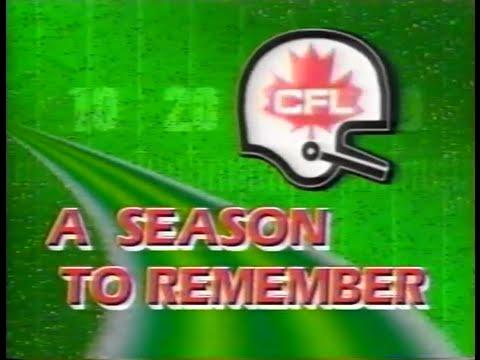 CFL: A Season to Remember