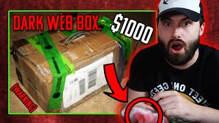 CRAZY Real Dark Web Mystery Box Goes Terribly Wrong! (Disturbing Content) Very Scary!