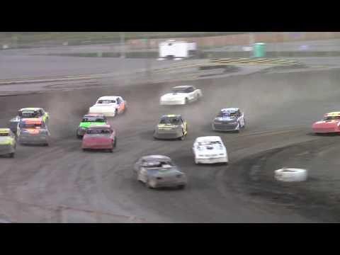 Nodak Speedway IMCA Stock Car A-Main (8/27/17)