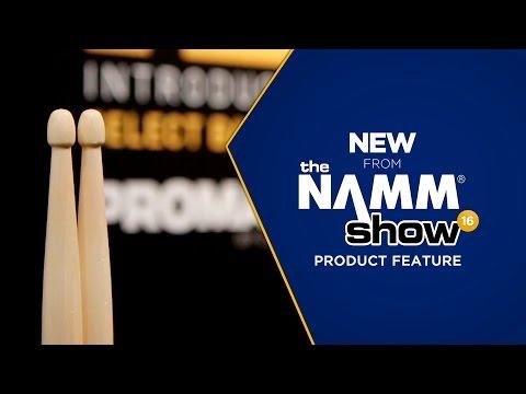 Live at NAMM 2016 - Pro-Mark Select Balance Rebound Balance Acorn Tip Drum Sticks