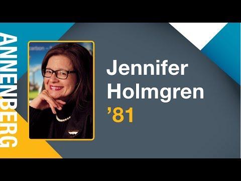 Jennifer Holmgren '81 - 2017 Annenberg Speaker Series