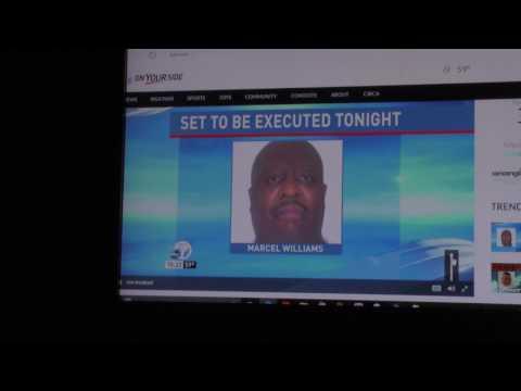 4339 Arkansas Execution of Jack Jones and Marcel Williams News Footage