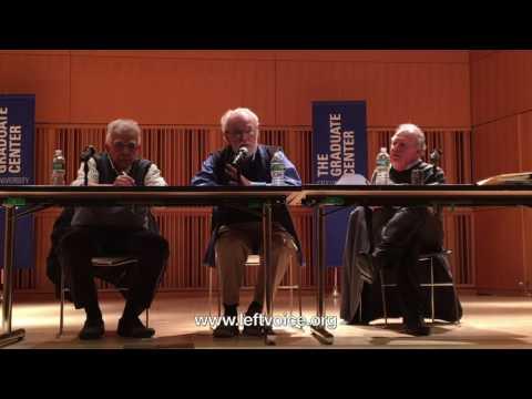 David Harvey and Robert Brenner at the CUNY Grad Center - Dec 2016, Part 2