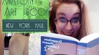 Anatomy of an Art Book: NYC Book Haul