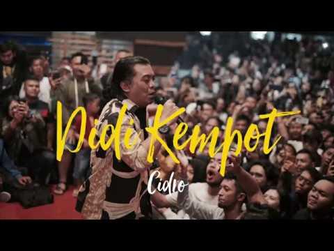 Didi Kempot live Ngobam - Cidro #1