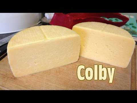 Making Colby Cheese At Home