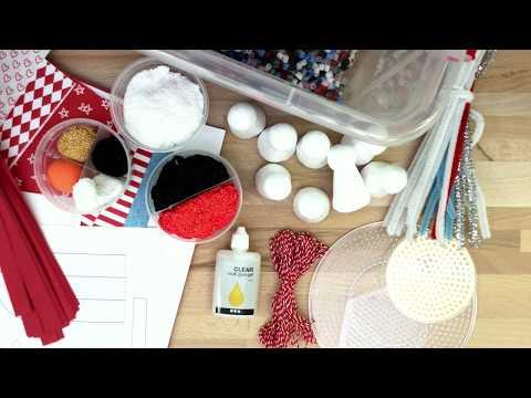 Christmas craft box set