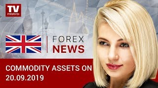 InstaForex tv news: 20.09.2019: Oil has prospects for further upside (BRENT, USD/RUB)