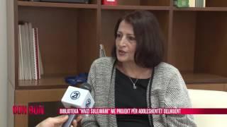 "BIBLIOTEKA ""HIVZI SULEJMANI"" ME PROJEKT PER ADOLESHENT DELIKUENT 04.01.2017"