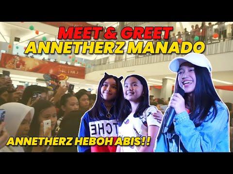 HEBOHH!!!   MEET & GREET plus NOBAR with ANNETHERZ MANADO