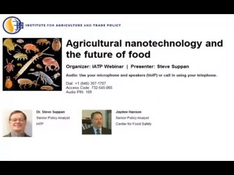 Agricultural nanotechnology and the future of food