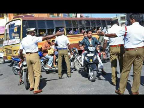 Tamilnadu police bribe caught in call recording