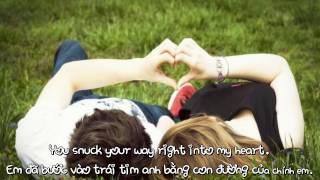 [Video Lyrics / Kara / Vietsub] You snuck your way right into my heart - Love Handel-By Chim