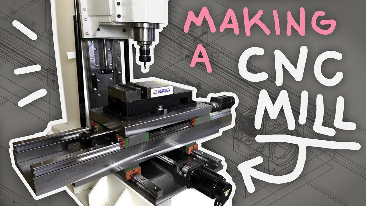 Building my own CNC Mill - YouTube