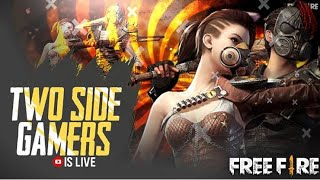 FREE FIRE RANK RUSH MATCH PUSH TO HEROIC LIVE- TWO SIDE GAMERS