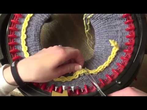 DIY Tutorial: How To Make a Brimmed Hat on addi Express King Size Knitting Machine