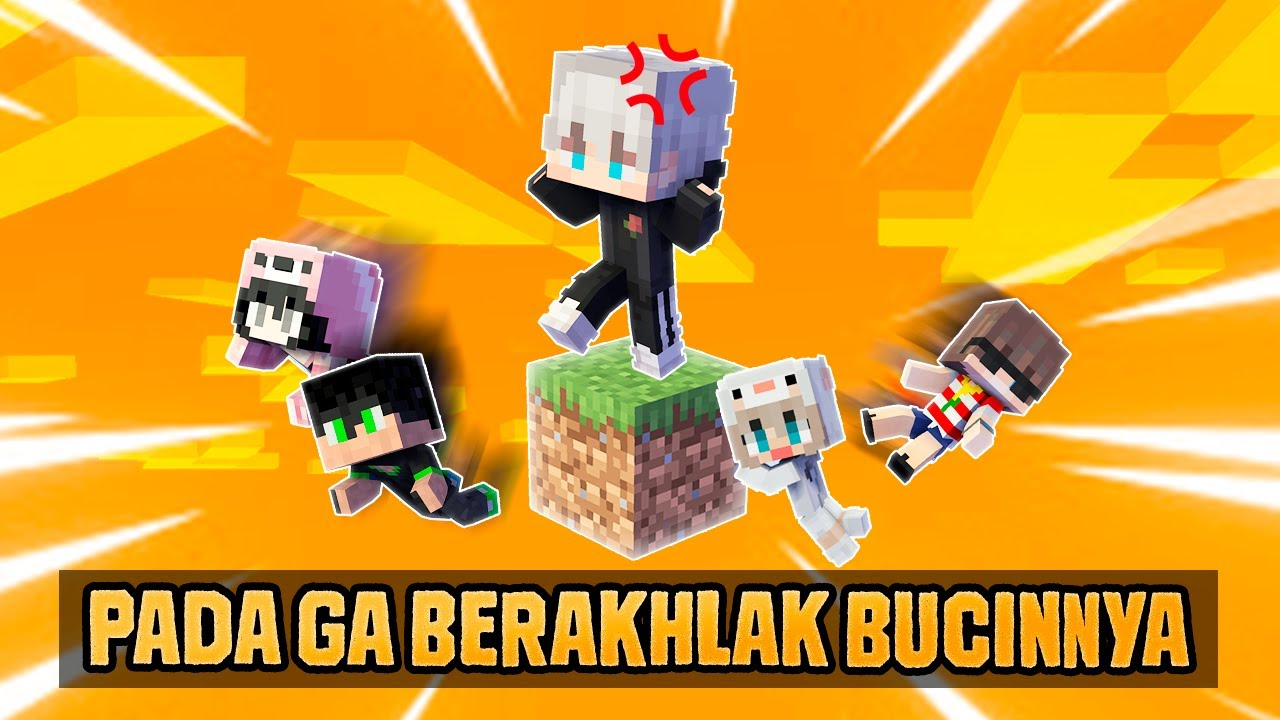 BUCIN KEBABLASAN DI ONE BLOCK PAK GM!!! (TANDA SERUNYA TIGA) Minecraft One Block Indonesia