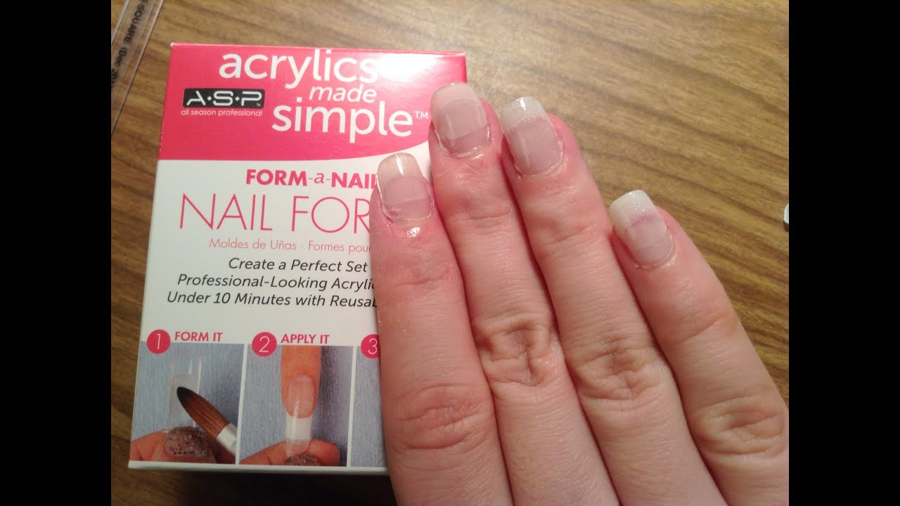 Acrylic Nails In Under 10 Minutes You