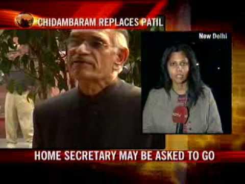 Chidambaram is new home minister