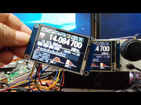 How to use Multi Nextion LCD (TJC LCD) with uBITX