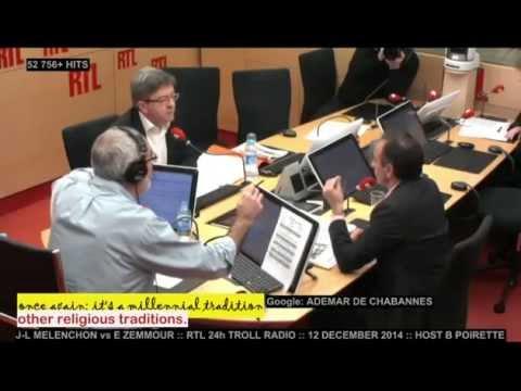 J-L MELENCHON vs E ZEMMOUR :: 12 DECEMBER 2014 :: English subtitles