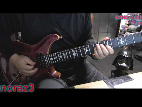BAND MAID - Thrill (COVER)with ZOOM G5n
