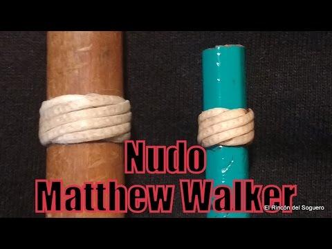 """Nudo Matthew Walker  (Sortija de variación sobre 7) """"El Rincón del Soguero"""""""