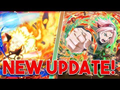 BIJUU MODE NARUTO! GREAT NINJA WAR SAKURA! LIMIT BREAK REVAMP AND NEW GAME MODE! | Naruto Blazing
