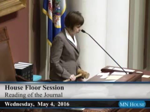 House Floor session - part 1  5/4/16