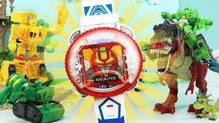헬로카봇시계 2탄 마이티가드 슈퍼패트론 카드로 공룡 물리쳐라 헬로 카봇 4기 5기 뽀로로 장난감 Hello Carbot seoson3 and season5 Toys