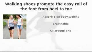 Walking Shoes v. Running Shoes v. Cross-Trainers