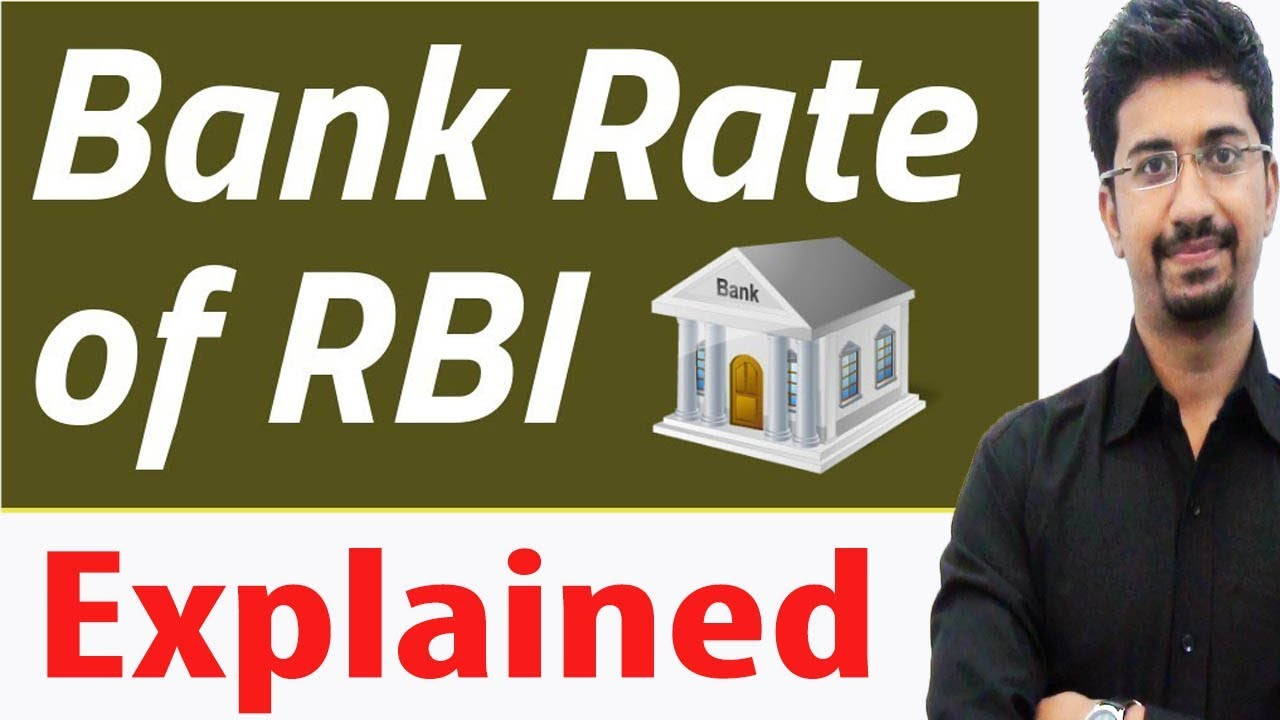 A bank rate is the interest rate at which a nations central bank lends money to domestic banks, often in the form of very short-term loans. Managing the bank rate is a method by which central