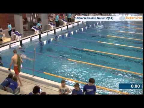 5 100m Selkäuinti Naiset Heat 2 11 23 07