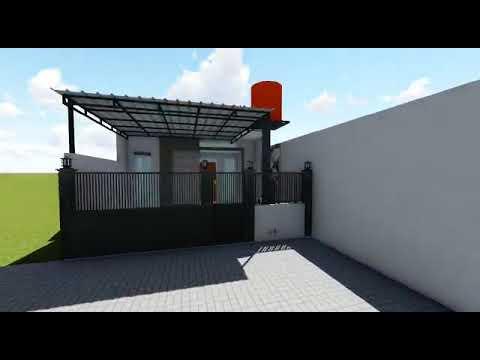 Renovasi rumah type 36/72 - YouTube