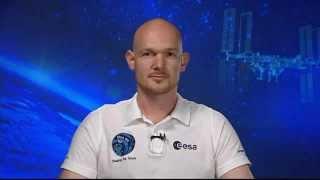 Pressebriefing mit ESA-Astronaut Alexander Gerst aus dem Europäischen Astronautenzentrum EAC in Köln