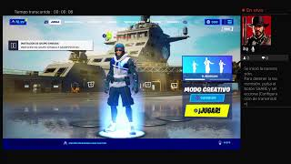 Fortnite en creativo PS4