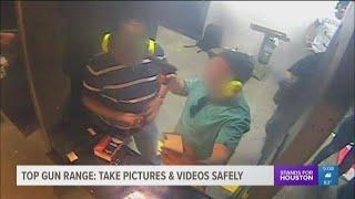 Top Gun Range: Take pictures, video safely